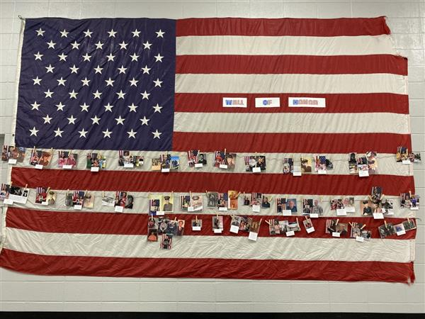 Thank You Veterans - Lyerly Wall of Honor