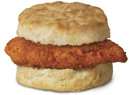 Biscuits on Wednesday and Fridays, Sausage $2.00, Chicken $3.00