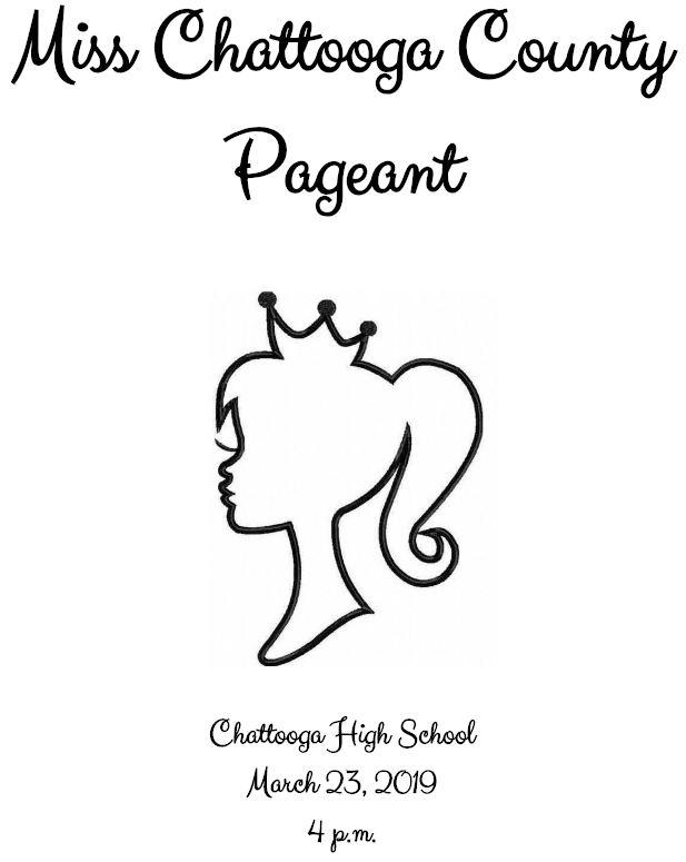 Miss Chattooga County Pageant